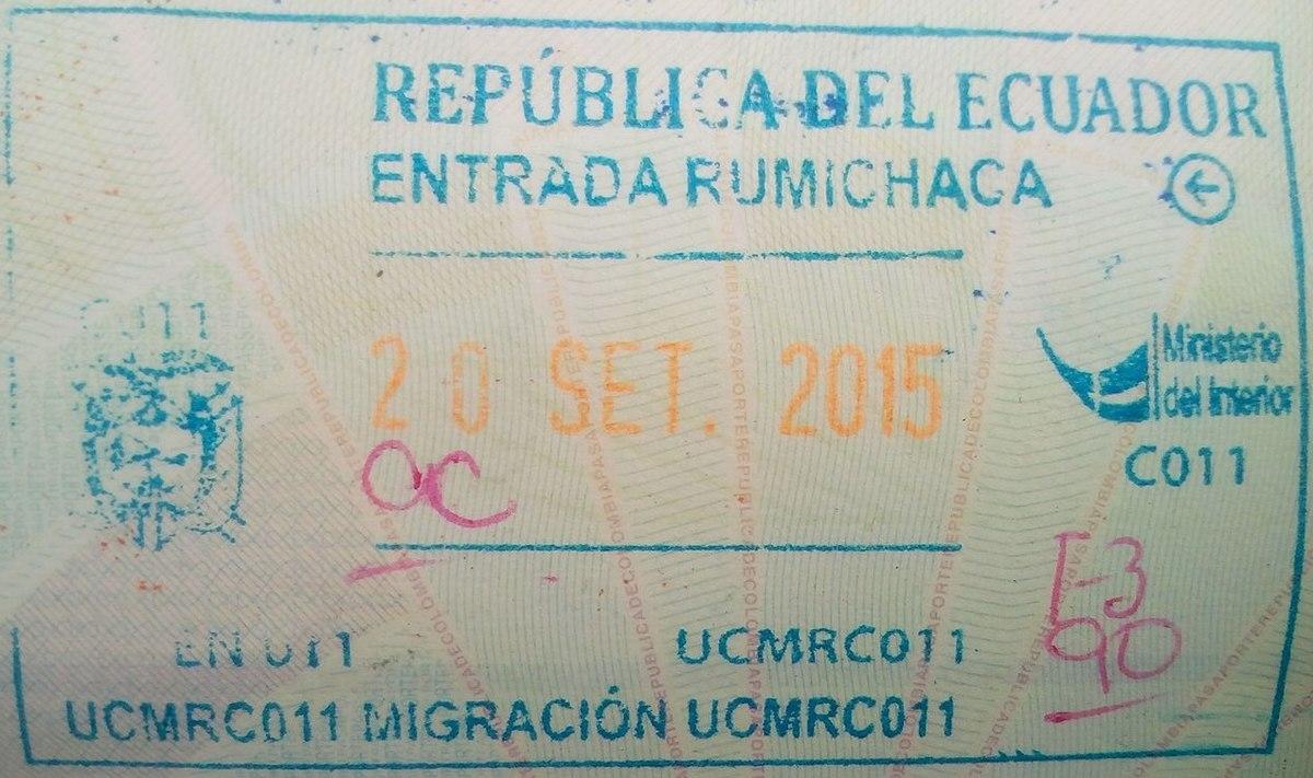 Visa Policy Of Ecuador Wikipedia
