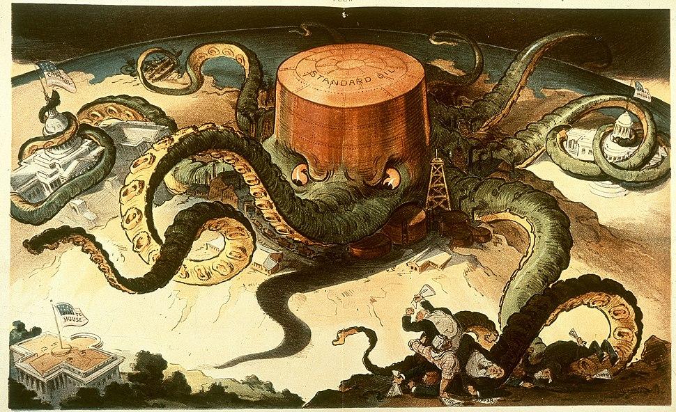 Standard oil octopus loc color