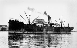 Convoys HX 229/SC 122 - Image: State Lib Qld 1 140903 King Gruffyd (ship)