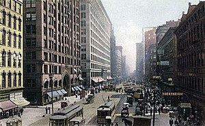 Loop Retail Historic District - State Street in 1907