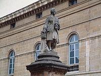 Statue de Jean-Philippe Rameau inaugurée en 1880 à Dijon, sur la place qui porte aujourd hui son nom