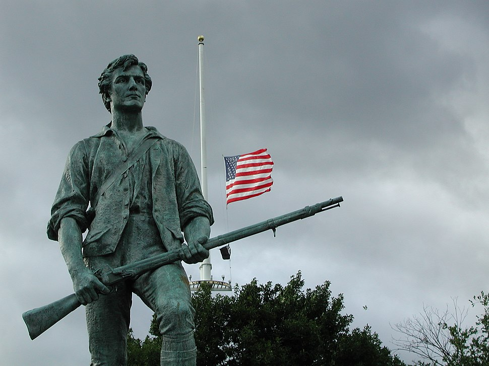 Statue in Minute Man National Historical Park