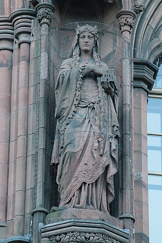 Margaret, Maid of Norway - Statue of Queen Margaret, Scottish National Portrait Gallery