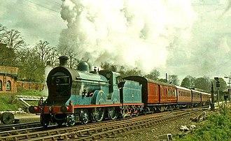 Great Northern Railway (Ireland) - Preserved GNRI Class S no. 171 Slieve Gullion at Lisburn