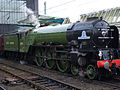 Steam locomotive 60163 Tornado Carlisle Cumbrian Mountain Tornado 10 Oct 2009 pic 4a.jpg
