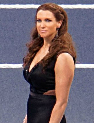 Stephanie McMahon - Stephanie McMahon at WrestleMania 31 in March 2015