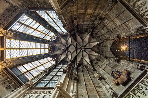 Stephansdom Barbarakapelle Gewölbe 01