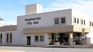Stephenville, Texas - Stephenville City Hall