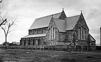 St Francis Xavier's Cathedral, Adelaide - Image: Stfxc 1863