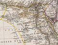 Stieler, Adolf. Das Mittellandische Meer Und Nord-Afrika. 1875 CA.jpg