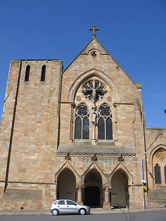 Saint Mungo - St Mungo's Church, Townhead, Glasgow