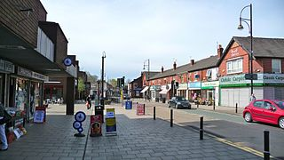 Romiley Human settlement in England