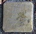 Stolperstein Alt-Moabit 85 (Moabi) Jacob Stargardt.jpg
