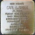 Stolperstein Carl Spier Gleueler Str 163.jpg