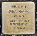 Stolperstein Remscheid Alleestraße 20 Sara Frank.jpg