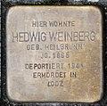 Stolperstein Remscheid Alleestraße 56 Hedwig Weinberg.jpg