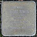 Stolperstein Selma Simon (Langgasse 38 Butzbach).jpg