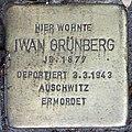 Stolperstein Stierstr 19 (Fried) Iwan Grünberg.jpg