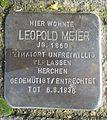 Stolperstein Windeck Gerressen Leopold Meier.JPG