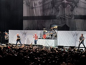 Stone Sour - Stone Sour performing in 2010.