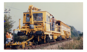 Stoneblower - This is a photograph, at a distance, of the PBI'84 operating in its measurement phase.