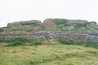 Dún Conor fortification