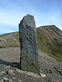 Stone Obelisk, Snowdon - geograph.org.uk - 531272.jpg