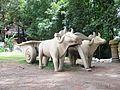 Stone work (Scripture) of Bulls pulling a cart - Flickr - anantal.jpg