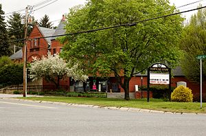 Stow, Massachusetts - Town center of Stow