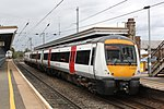 Stowmarket - Greater Anglia 170205 Ipswich train.JPG