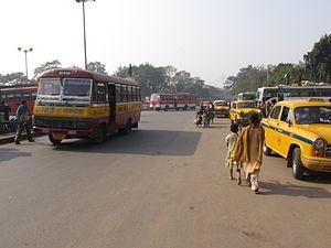 Strand Road, Kolkata - The Strand road near Outram Ghat, Kolkata.
