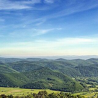 landscape park in Bulgaria