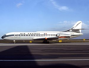 Air France Flight 2005 - A Sud Aviation Caravelle of Air France, similar to the accident aircraft