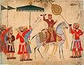 Sultan Husain Nizam Shah I on Horseback, Ahmadnagar ca. 1555, Cincinnati Art Museum.jpg