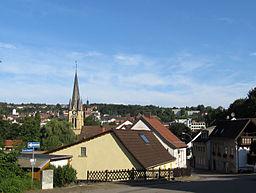 Blick auf Sulzbach, Saarland