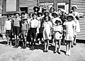 "Sunday school, Wilcannia, NSW, 1937 - photographer Reverend Edward (""Ted"") Alexander Roberts (6151317395).jpg"