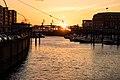 Sunset in Hamburg Port, 2016 (25518697210).jpg