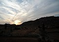 Sunset over Makalidurga Ghats 01.jpg