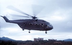 30 Squadron SAAF - Image: Super Frelon no. 303