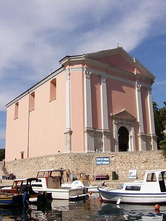 Veli Lošinj - St. Antun Opat Pustinjak church