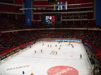 Sweden Hockey Games - Sweden-Russia during the 2012 tournament
