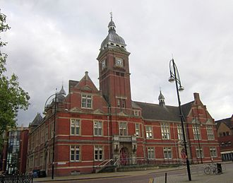 Swindon - Swindon Town Hall, now a dance theatre