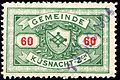 Switzerland Küsnacht 1901 revenue 60c - 5.jpg