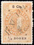 Switzerland Lucerne 1899 revenue 6 5c - 78 - E 2 99.jpg