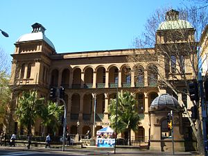 Sydney Hospital - View from  Macquarie Street