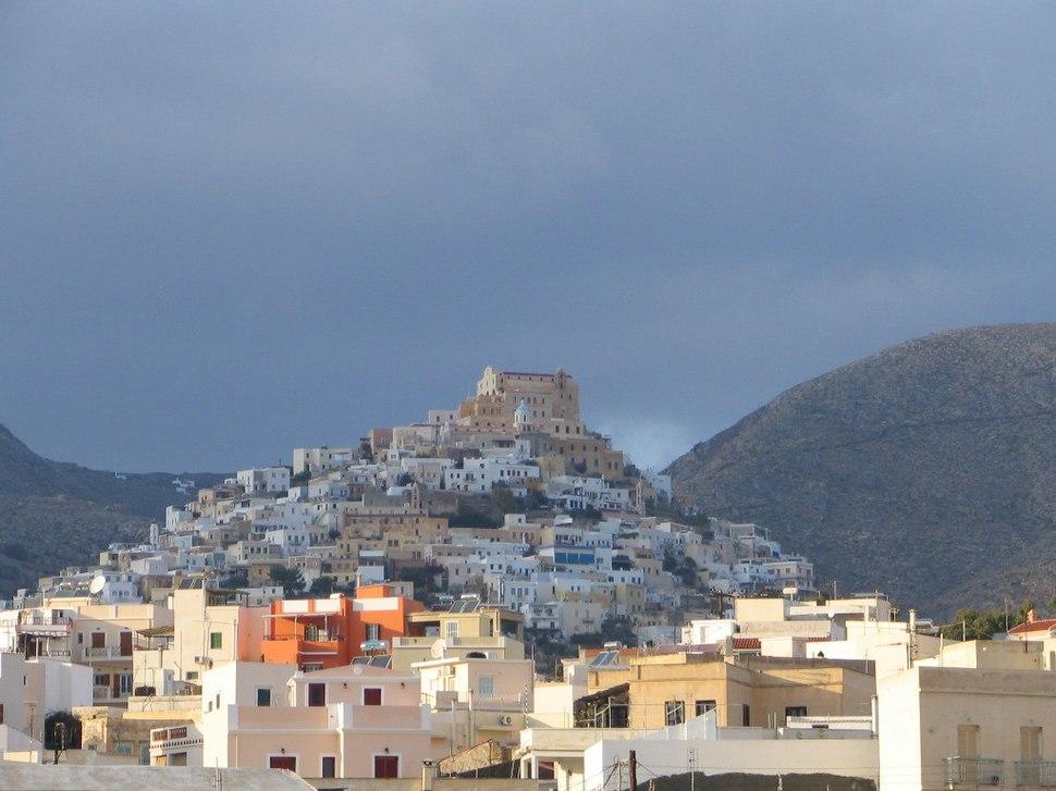 Syros Ermoupoli view