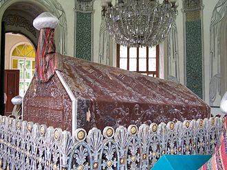 Osman I - Türbe (tomb) of Osman Gazi in Bursa