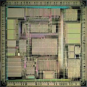 MicroSPARC - Image: TI micro SPARC I die