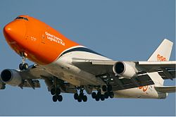 Boeing 747-400F der TNT Airways