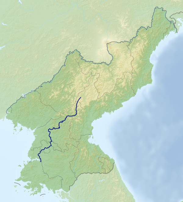 Taedong River Route.png